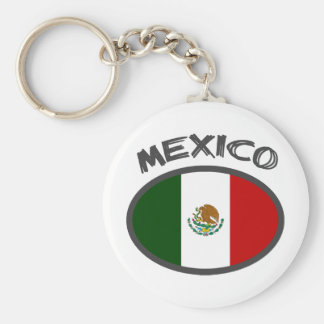 Mexico Cool Flag Design! Keychain