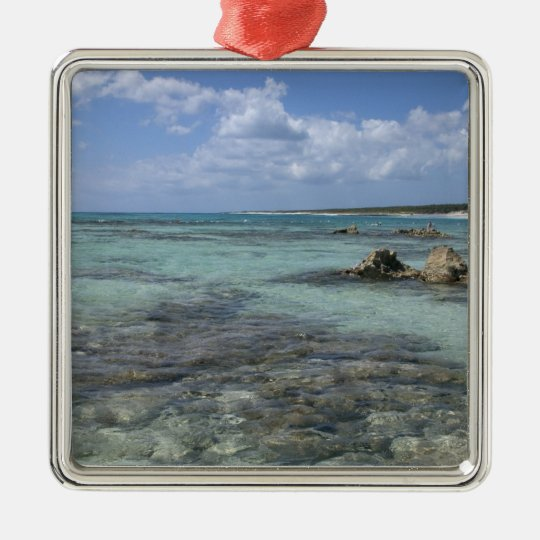 Mexico, Cozumel, Punta Morena, the east coast 2 Metal Ornament