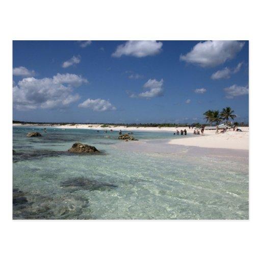 Mexico, Cozumel, Punta Morena, the east coast Postcard