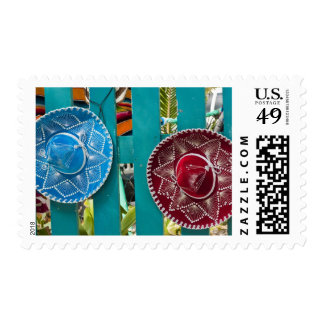 Mexico, Cozumel. Souvenirs in Isla de Cozumel Stamp