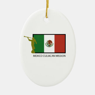 MEXICO CULIACAN MISSION LDS CTR CERAMIC ORNAMENT
