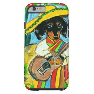 MEXICO DACHSHUND TOUGH iPhone 6 CASE