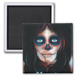 Mexico Day of the Dead Vacation print Magnet