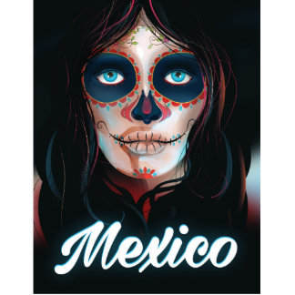 Mexico Day of the Dead Vacation print Statuette