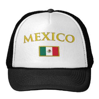 México de oro gorras de camionero