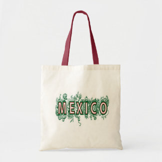 MEXICO - DECORATIVE STYLE CANVAS BAGS