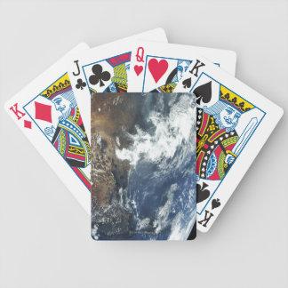 México del espacio baraja de cartas
