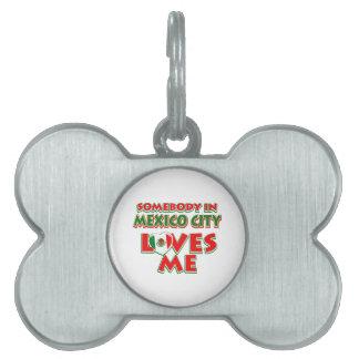 Mexico design pet ID tag