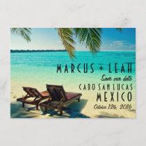 Mexico Destination Wedding Save the Date