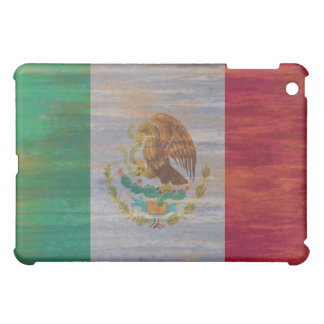 Mexico distressed Mexican flag iPad Mini Covers