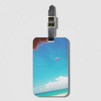 Mexico dreams luggage tag
