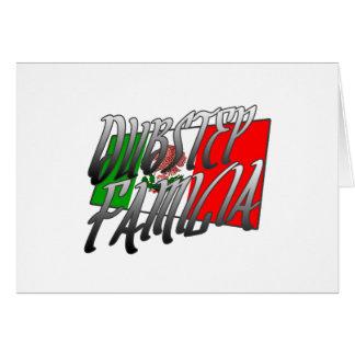 Mexico Dubstep Familia camiseta MX DUBSTEP Card