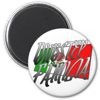 Mexico Dubstep Familia camiseta MX DUBSTEP Magnet