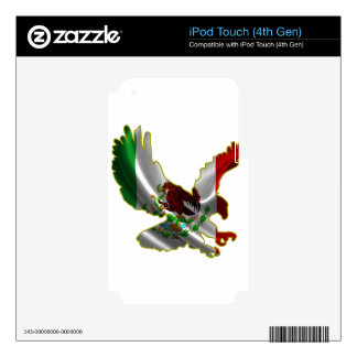 MEXICO EAGLE PRODUCTS iPod TOUCH 4G SKINS
