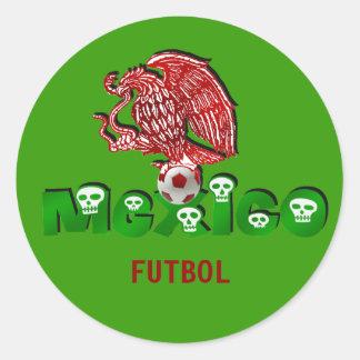 Mexico eagle soccer futbol stickers