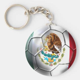 Mexico el Tri soccer ball Mexican flag gear Keychain