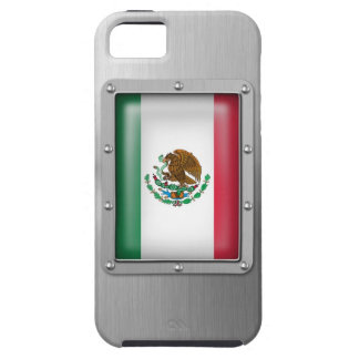 México en acero inoxidable iPhone 5 Case-Mate funda