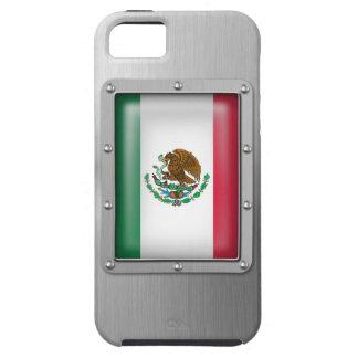 México en acero inoxidable iPhone 5 carcasa