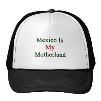 México es mi patria gorra