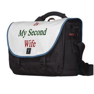 México es mi segunda esposa bolsas para portatil