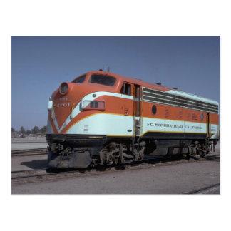 Mexico, Fc Sonora - Baja California - F-7a Postcard