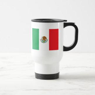 Mexico Flag 15 Oz Stainless Steel Travel Mug