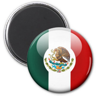 Mexico Flag 2.0 2 Inch Round Magnet