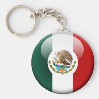 Mexico Flag 2.0 Basic Round Button Keychain