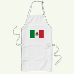 Mexican Flag Apron