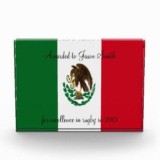 Mexico flag award