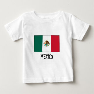 Mexico Flag Baby T-Shirt
