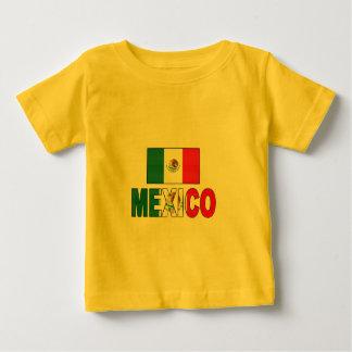 Mexico flag baby T-Shirt