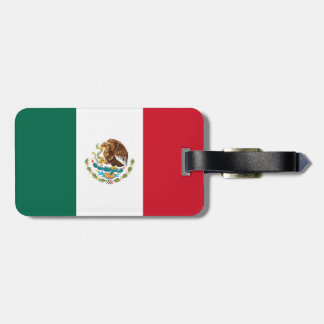 Mexico Flag Bag Tag