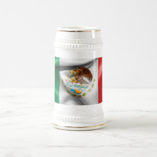 Mexico Flag Beer Stein