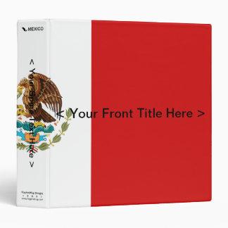Mexico Flag Binder