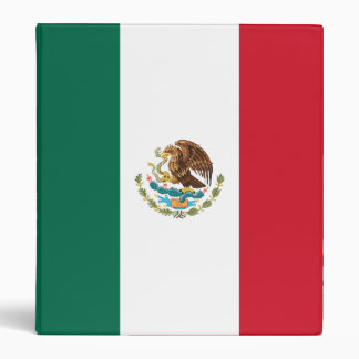 Mexico Flag Binder