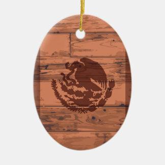 Mexico Flag Brand Ceramic Ornament