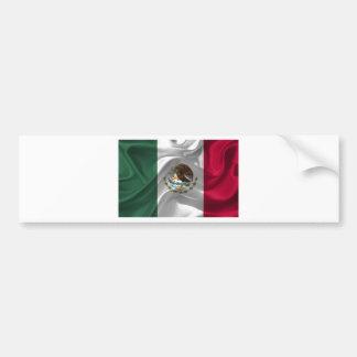 mexico-Flag Bumper Sticker