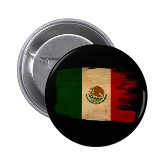 Mexico Flag Pinback Buttons
