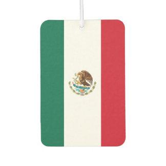 Mexico Flag Car Air Freshener