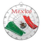 Mexico Flag Dart Board