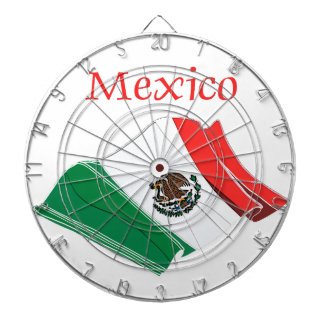 Mexico Flag Dart Board