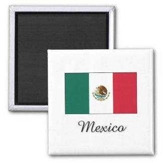 Mexico Flag Design Fridge Magnet