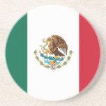 Mexico Flag Drink Coaster