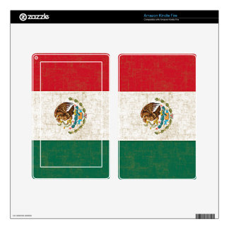 MEXICO FLAG eReader Skin Decals For Kindle Fire