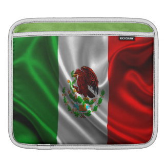 Mexico Flag Fabric iPad Sleeve