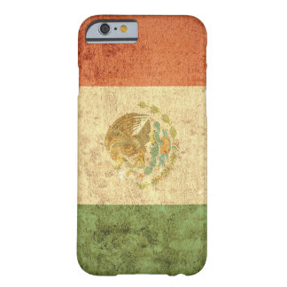 Mexico Flag - Grunge Barely There iPhone 6 Case