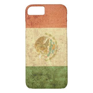 Mexico Flag - Grunge iPhone 7 Case