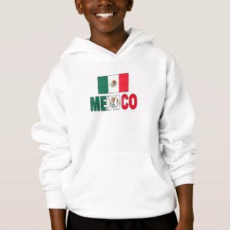 Mexico flag hoodie