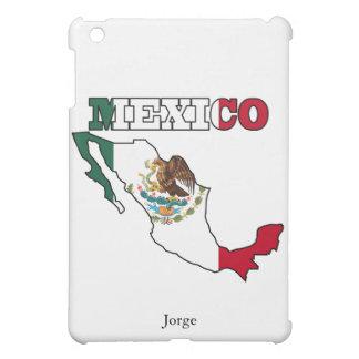 Mexico Flag in Map iPad Mini Covers